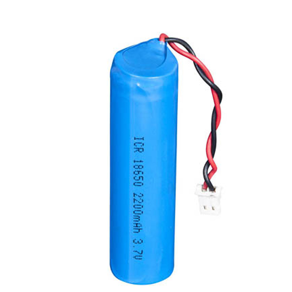 2200mah icr18650 battery with connector ibestpower battery supplier