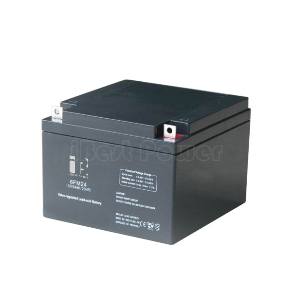 12v 24ah agm sealed lead acid battery ibestpower battery supplier. Black Bedroom Furniture Sets. Home Design Ideas